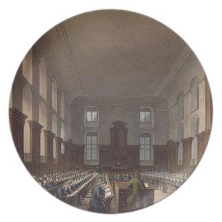 Writing School, Christ Hospital, from Ackermann's Plate