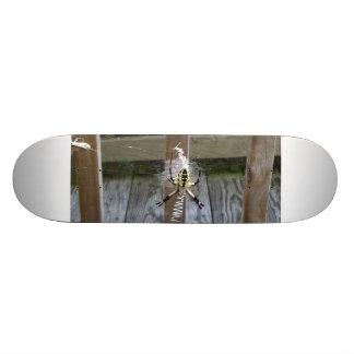 Writing Spider Closeup Board Skate Board Decks