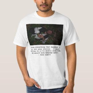 writing t shirts