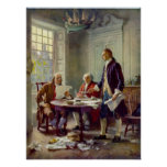 Writing the Declaration of Independence Ferris Print