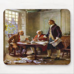 Writing The Declaration of Independence Mousepads