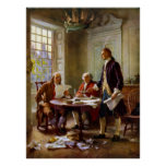 Writing The Declaration of Independence Print