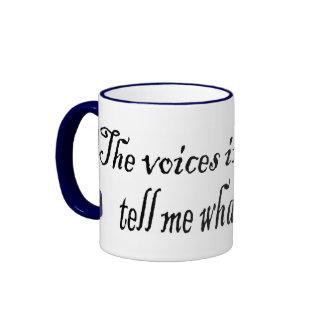 Writing Voices Ringer Mug