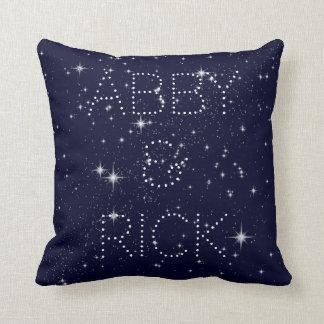 Written in the Stars Throw Pillow 16X16