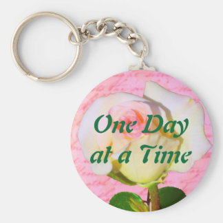 Written with Rose ODAT Basic Round Button Key Ring