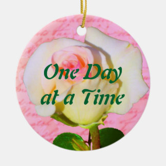 Written with Rose ODAT Christmas Ornament