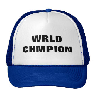 WRLD CHMPION MESH HAT