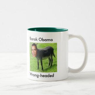 Wrong-headed, Barak Obama mug