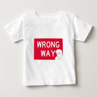 wrongway-trump2 tee shirt