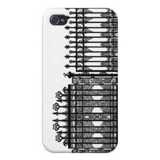 Wrought Iron iPhone 4 Cases
