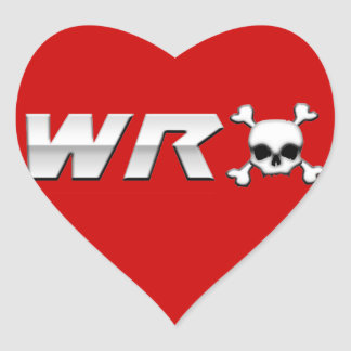 WRX with Scull Heart Stickers