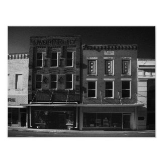 WS Lively Bldg-McMinnville Tennessee Posters