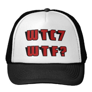 WTC 7 WTF MESH HATS
