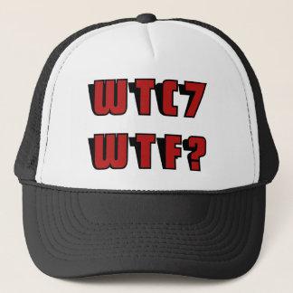 WTC 7 WTF? TRUCKER HAT