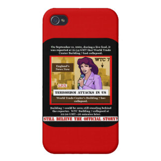 WTC Building 7 Iphone Case iPhone 4 Cover