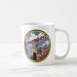 WTC Remember 9-11 Mugs
