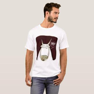 wtf funny cattle cartoon T-Shirt