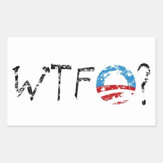WTF Obama Stickers