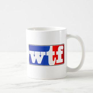 WTF Sports Fan Basic White Mug