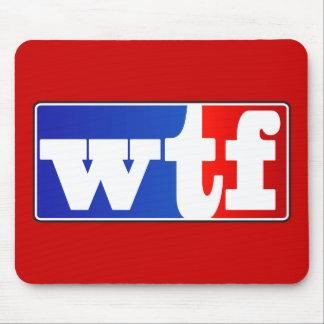 WTF Sports Fan Mouse Pad