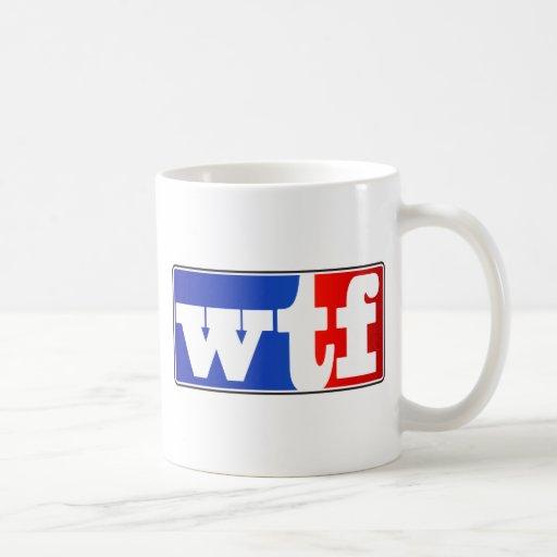 WTF Sports Fan Coffee Mug