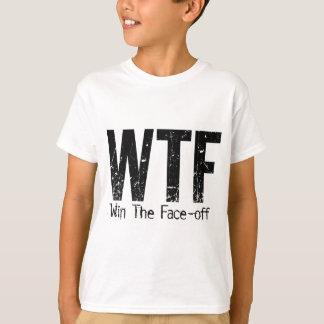 WTF: Win The Face-off (Hockey) Tee Shirts