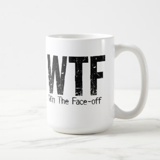 WTF: Win The Face-off Mugs