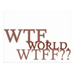 WTF World Post Card