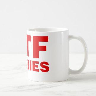 WTF Zombies Coffee Mug