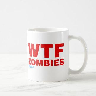 WTF Zombies Mugs