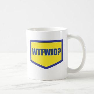 WTFWJD BASIC WHITE MUG