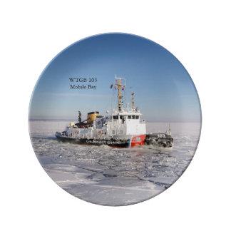 WTGB 103 Moblie Bay ice decorative plate