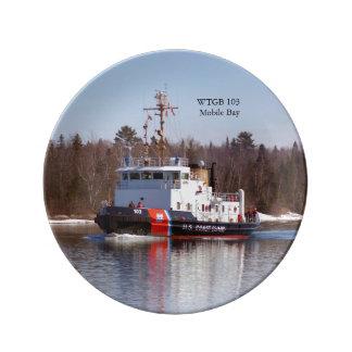 WTGB 103 Moblie Baydecorative plate