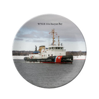 WTGB 104 Biscyne Bay decorative plate