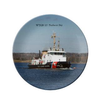WTGB 107 Penobscot Bay decorative plate