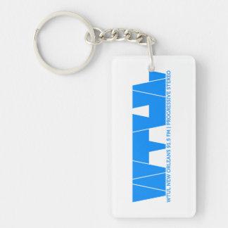WTUL radio Station Keychain