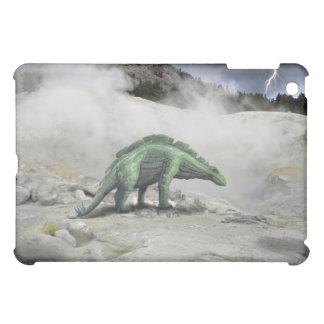 Wuerhosaurus near volcano vent F iPad Mini Case