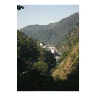 Wulai, Taipei County, Taiwan 13 Cm X 18 Cm Invitation Card