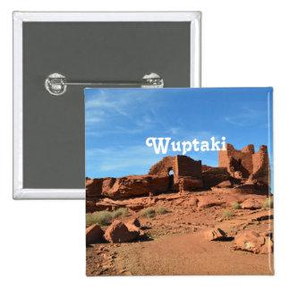 Wuptaki Ruins 15 Cm Square Badge