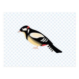 Wurbly Woodpecker Postcards