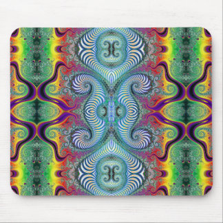 Wurburbo Fractal Art Design Mouse Mat