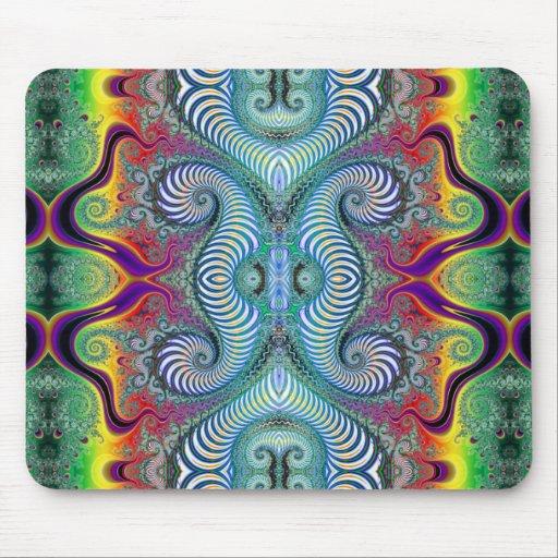 Wurburbo Fractal Art Design Mouse Pads