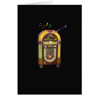 WURLITZER JUKEBOX GREETING CARD