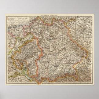 Wurtemberg, Bavaria Poster