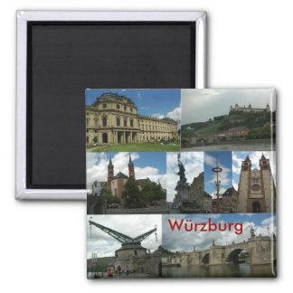 würzburg square magnet