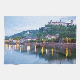 Würzburg Tea Towel