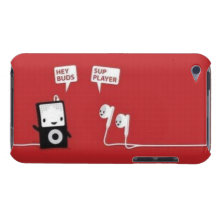 Wus up Player? iPod Case Barely There iPod Case