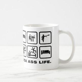 Wushu Basic White Mug