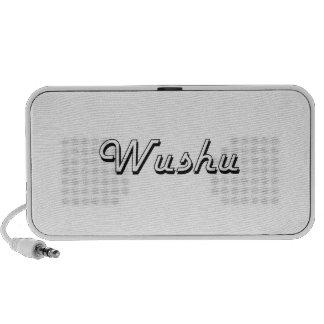 Wushu Classic Retro Design Laptop Speakers