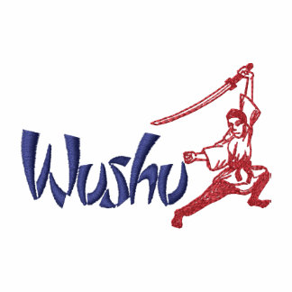 Wushu Embroidered Track Jacket